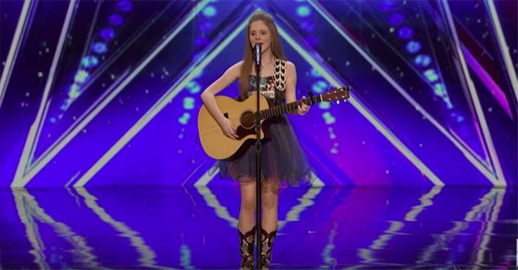 Die 12-Jährige hat eine überwältigende Stimme! #News #Unterhaltung