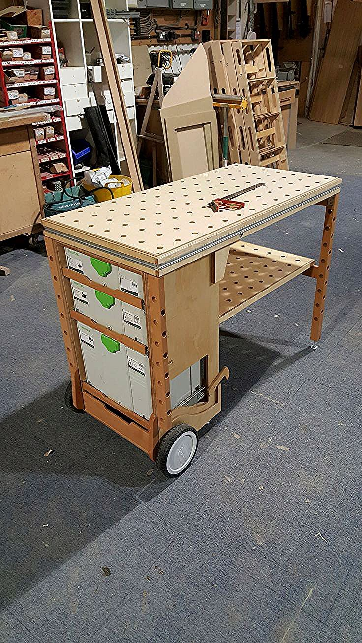 Autres Tables | Tragbare werkbank, Holzbearbeitung ...