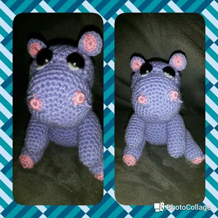 Gehaakte nijlpaard