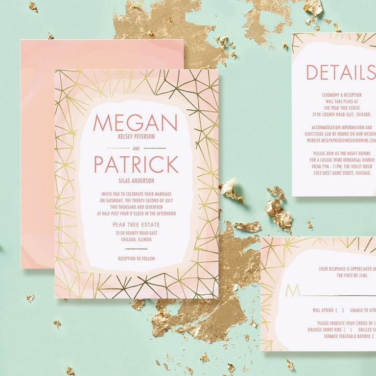 The 203 best Wedding Invitations Templates images on Pinterest ...