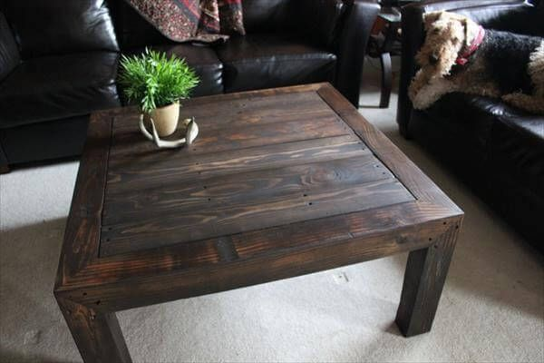 Another amazing little coffee table made by reshaping the wood pallets and converting them in to this beautiful peace of act. The innovation level is so good and the design itself is making it stand out as a classy product.