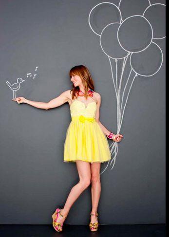 chalk and balloons fun