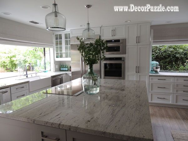 River White Granite Countertops White Granite Worktops