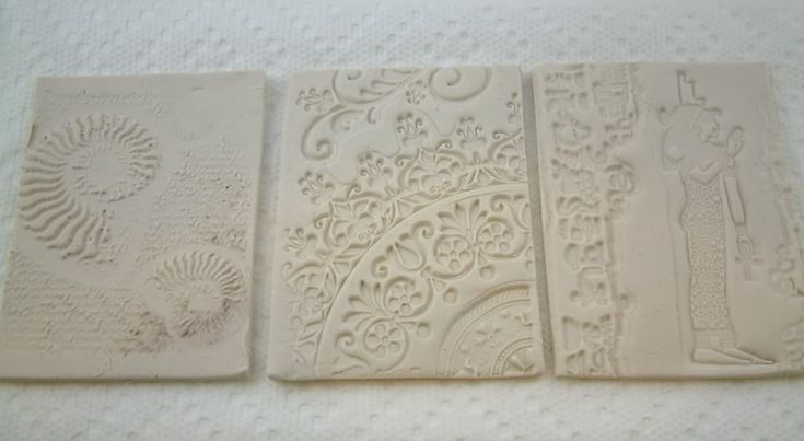 Tutorial – How to Create Backgrounds & Embellishments Using Paper Clay and Rubber Stamps