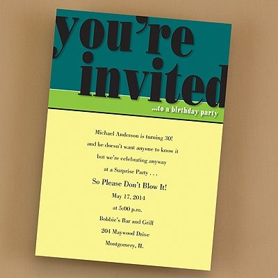 36 best Birthday Party Invitations images – Office Party Invites