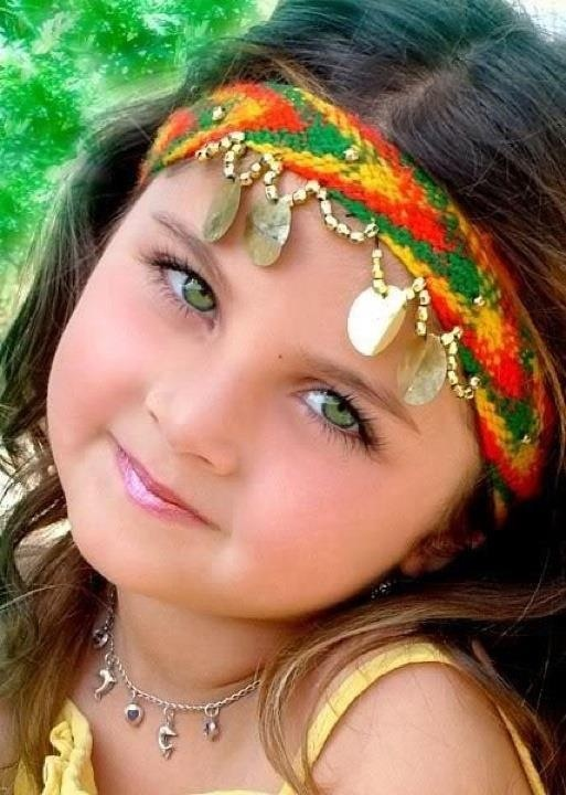 Afghan Girl - She Really Is A Beautiful Child.