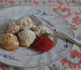Ebelskivers (Danish Pancakes) With Lingonberry Jam Recipes ...