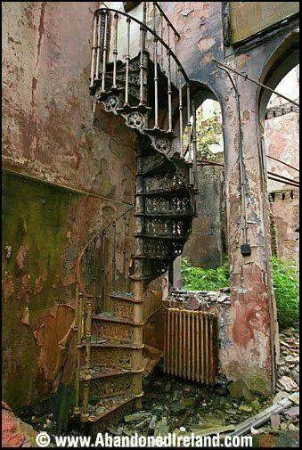Abandoned Ireland - The Dublin Magdalen Asylum,County Cork, Ireland - Home of 'wayward girls.' http://en.wikipedia.org/wiki/Magdalene_Asylum