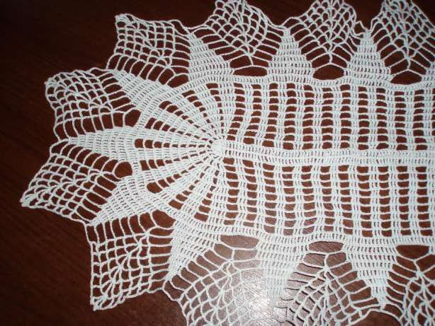Szydełkowa Serweta Tropie - image 1