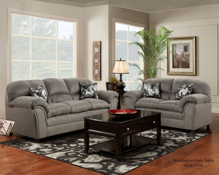 2 Pc. Victory Lane Dolphin Sofa U0026 Loveseat Set · Living Room ...