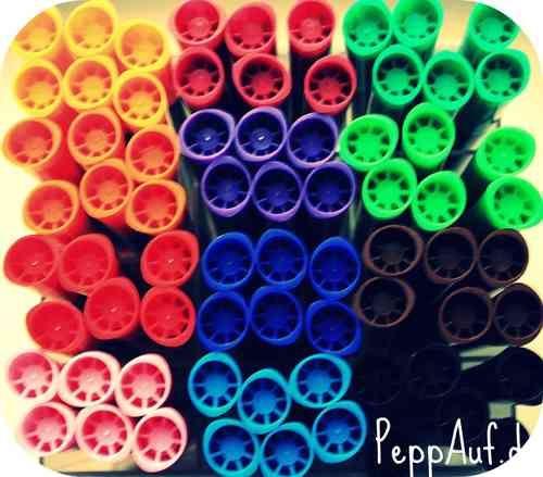 Stoffmalstifte 12 Farben-Set