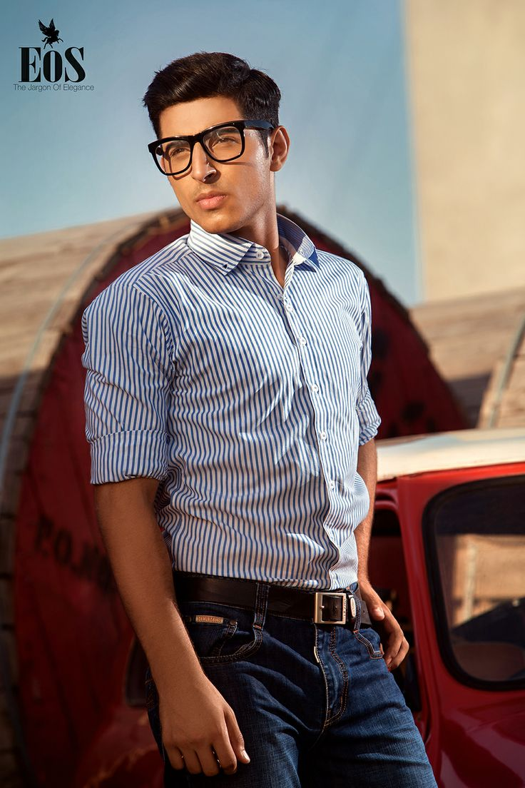 """""""The North Wind"""" - Pure Cotton Semi Formal Shirt by EOS"""