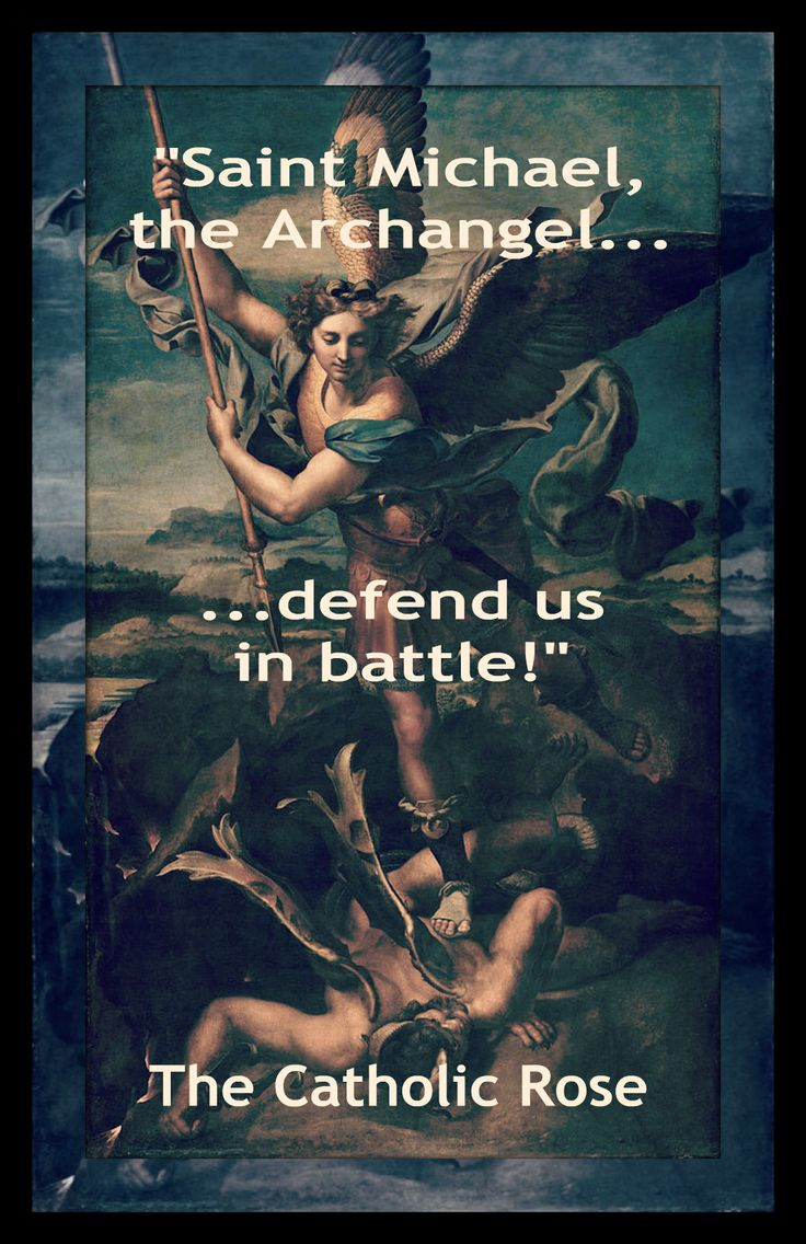 Archangels names and meanings catholic - St Michael The Archangel