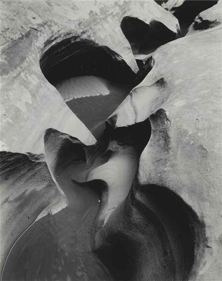 Edward Weston - Stream Channel, Glen Canyon, 1960