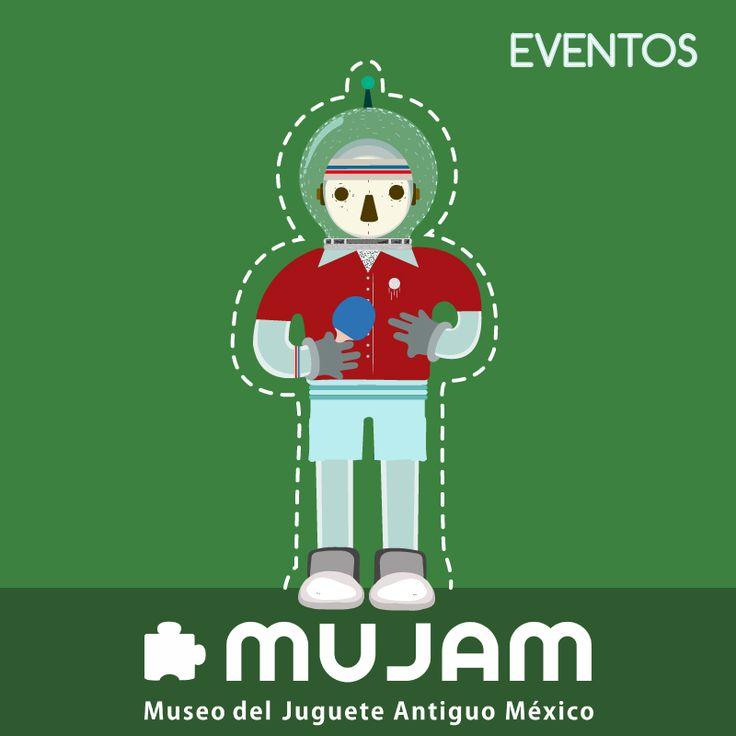 Ping Pongnauta:  MUJAM EVENTOS MUSEO DEL JUGUETE ANTIGUO MÉXICO, CELEBRACIÓN, FIESTA, CONCIERTOS, TORNEOS, CIRCO, TALLERES, MÚSICA EN VIVO, MURALES:  Conoce más de este perfil en: https://www.facebook.com/collecart.mujam?fref=ts