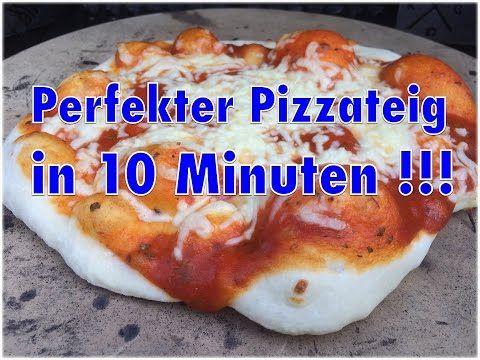 Der ultimative 10 Minuten Pizzateig nach Jörn Fischer - Klaus grillt ( Perfekter Pizzateig ) - YouTube