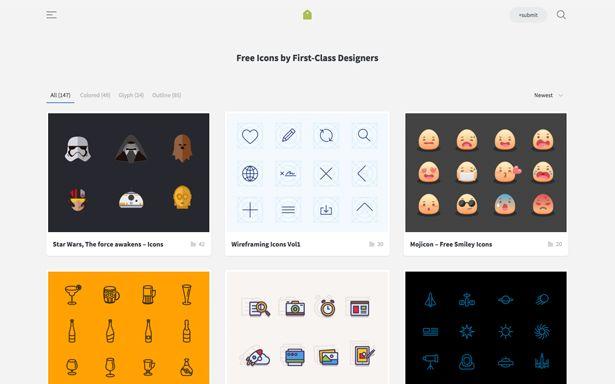 The best icons resources — Muzli -Design Inspiration — Medium