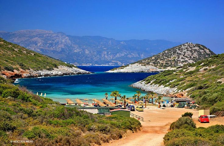 GREECE CHANNEL | #Samos #island-Livadaki #beach http://www.greece-channel.com/