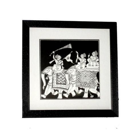 Black and White Wedding Box  - FOLKBRIDGE.COM | Buy Gifts. Indian Handicrafts. Home Decorations.