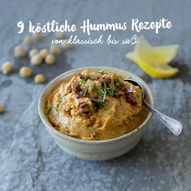 Wir lieben Hummus. Und kreative Hummus Rezepte noch viel mehr. Ob herzhaft oder süß: Du wirst staunen, was man aus Kichererbsen alles machen kann!
