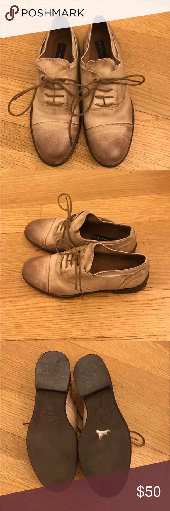 Steven by Steve Madden shoes - vintage feel Beautiful vintage like Steven shoes - barely worn. (1-2 times max). Steven by Steve Madden Shoes Flats & Loafers