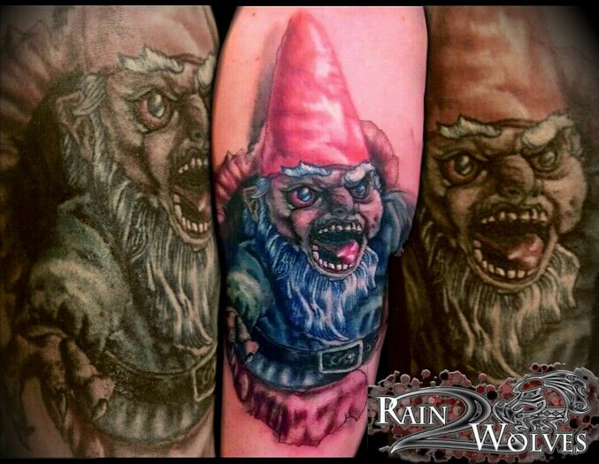17 best images about tattoos on pinterest star tattoos for Garden gnome tattoo designs