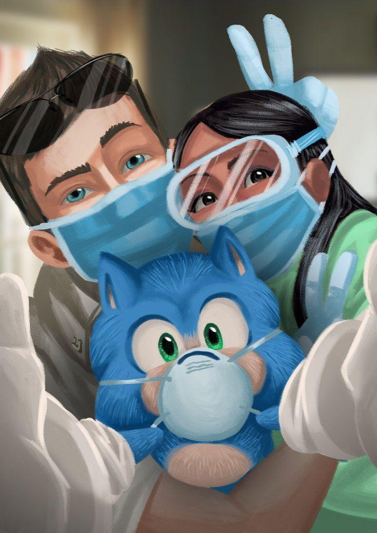 Gaia Ruggenini on Twitter | Sonic heroes, Hedgehog movie ...