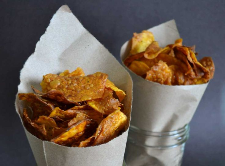 ... Cheap Luxury Sriracha Sweet Potato Chips | developing. making. baking