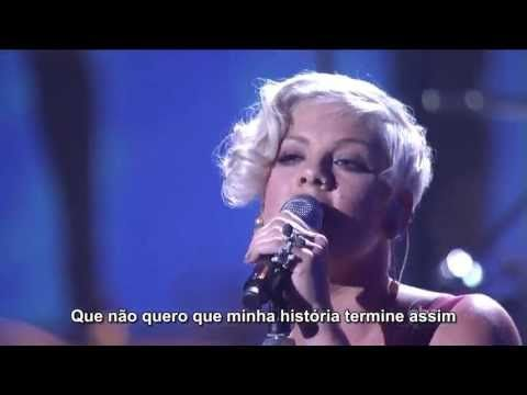 ▶ Pink - Sober (Live HD) ---- 1.  This is one of my FAVORITE Pink songs, and 2.  THAT DRESS!