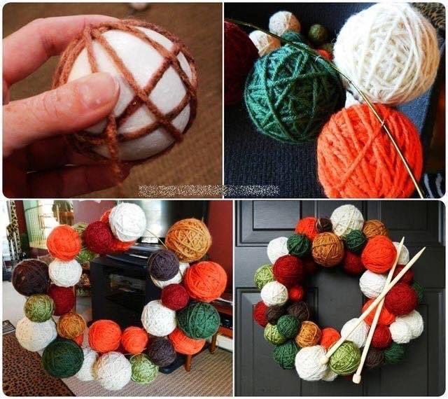 Faça sua própria guirlanda de natal!!🎄Acesse nosso site e vaja dicas e passo a passo artesanais ;) #reivistaartesanato #handrafts #natal #merrychristmas #gruilanda #deocração #crafts #diy #façavocêmesmo #santaclaus