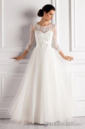 Suknia ślubna inspirowana Kate Middleton Elisabeth Passion-3