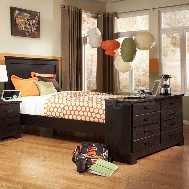 Hideout Panel Bed W/ Dresser Footboard