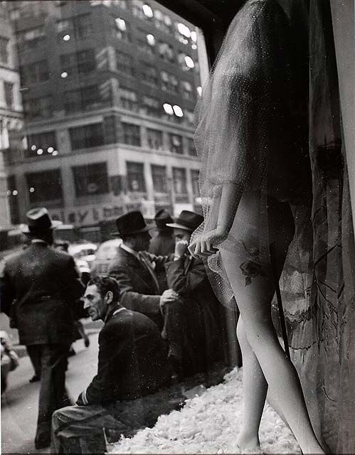 NYC. Window, 1939 by Lissette Model