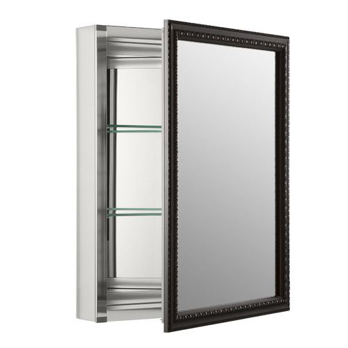 "Found it at Wayfair - 20"" x 26"" Wall Mount Mirrored Medicine Cabinet with Mirrored Door"