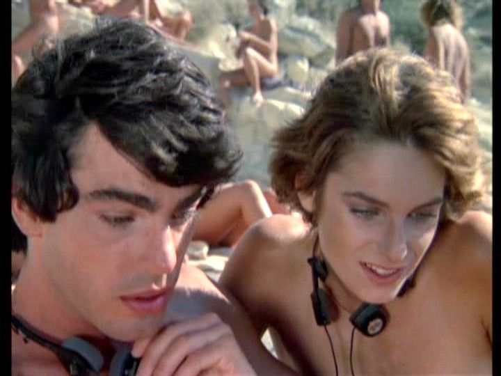 "Valerie Quennessen & Peter Gallagher in "" Summer Lovers """