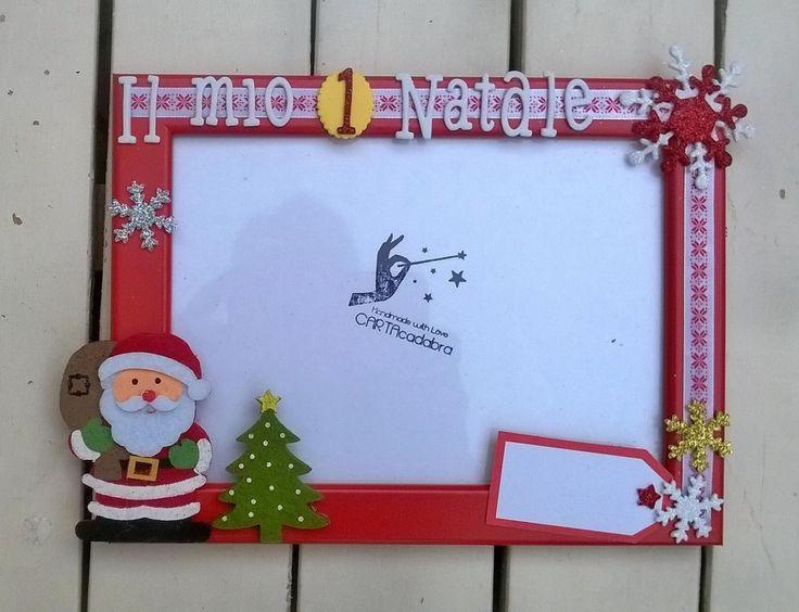 """CORNICI PORTAFOTO """"Il mio primo Natale"""" di CARTAcadabra su Etsy"""
