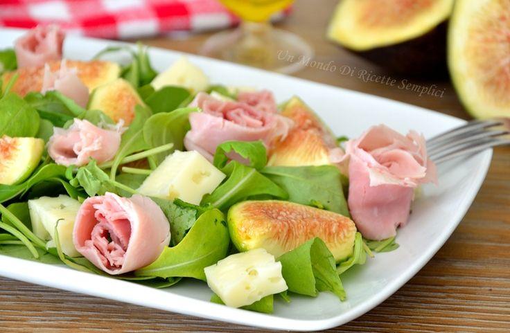 insalata di fichi e prosciutto