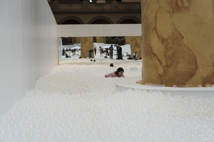 "The Building Museum's ""Beach"" Is as Fun and Ridiculous as It Sounds 