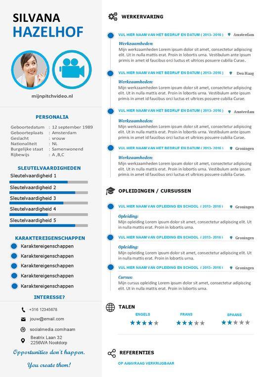 opvallende motivatiebrief Krachtig, duidelijk en opvallende cv inclusief motivatiebrief | CV