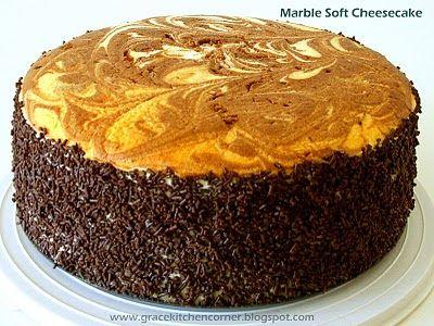 Kitchen Corner: Marble Soft Cheesecake