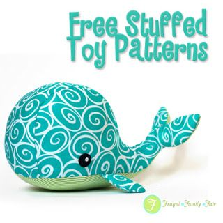 Frugal Family Fair: Free Stuffed Toy Pattern Sewing with Ethan...Let him pick. Get it started, let him finish.