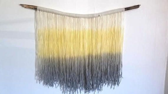 Hey, I found this really awesome Etsy listing at https://www.etsy.com/ca/listing/545962695/handmade-tapestry-fibre-art-dip-dye-wall