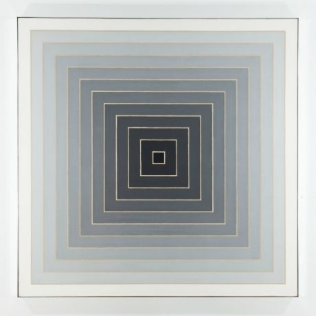 #FrankStellaUntitled,1967, magnificent Concentric Square Painting sold for $2 million at Art 43 Basel.