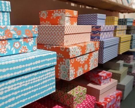 Forrar cajas de papel decoraci n pinterest - Forrar cajas de carton con telas ...