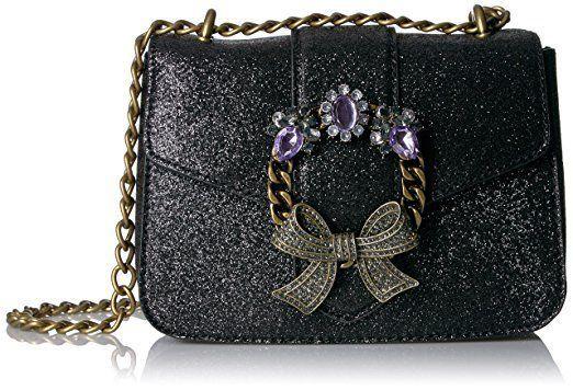891da3fd2ca New Aldo Women s Ladies Feronnel-97 Crossbody Chain Bag Purse Black NWT  65