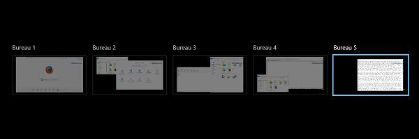 Utiliser les bureaux virtuels de Windows 10 pour démultiplier l'espace de travail #Tuto #Windows