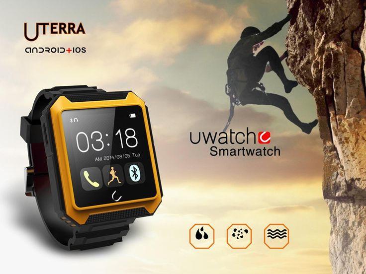 Neueste perfekte kompatibel iOS& Android-Handys Smart Watch uterra wasserdicht staubdicht stoßfest Bluetooth 4.0 hdtouch SmartWatch //Price: $US $73.63 & FREE Shipping //     #smartuhren