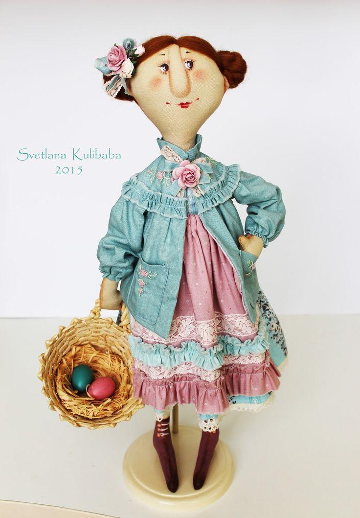 Жили - были куклы веселушки : Пасхальный декор