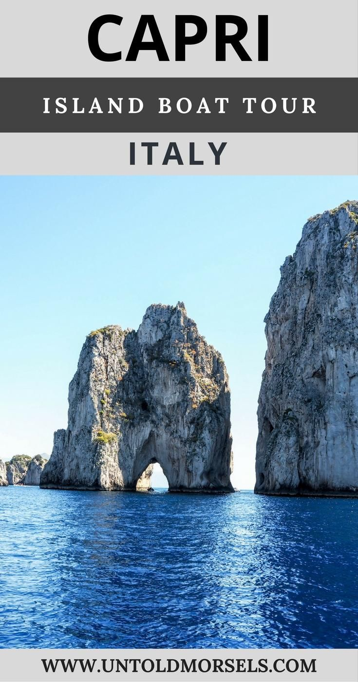Capri, Italy: Day trip and boat tour from Sorrento Amalfi Coast