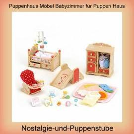 Puppen Haus Möbel Puppen Baby Zimmer Puppenhaus Sylvanian Families   Bild  Vergrößern